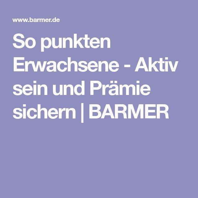 So punkten Erwachsene - Aktiv sein und Prämie sichern | BARMER