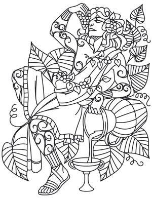 Greek Gods Dionysus Urban Threads