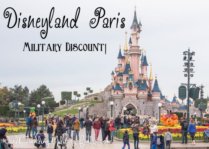 Disneyland Paris – Military Discount. Great rate, we saved $442 for our family of 4! It is 3.5 hours from Spangdahlem & Ramstein.