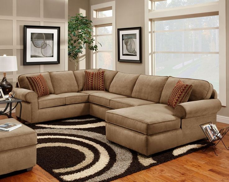 New large 3pc victory lane sectional with built in chaise for Lsf home designs furniture