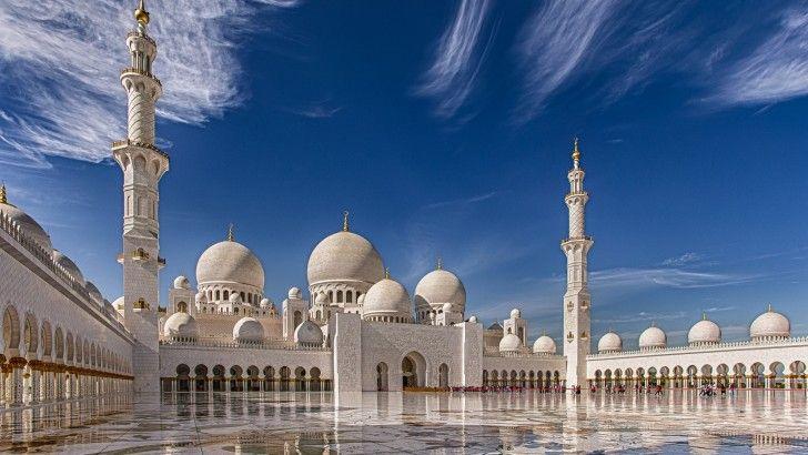 Sheikh Zayed Gran Mezquita Abu Dhabi Emirates
