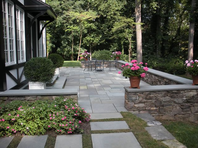 Patio Stone Walls : Best images about stone paving on pinterest