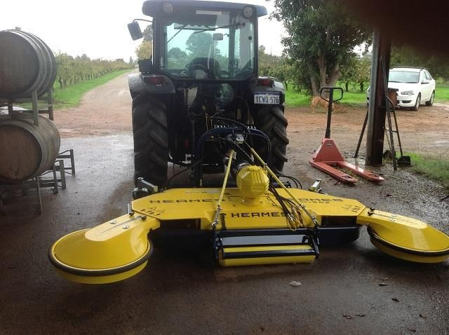 Hermes HM Swing Out Mower / Mulcher - Exclusive to SWAT in Australia.