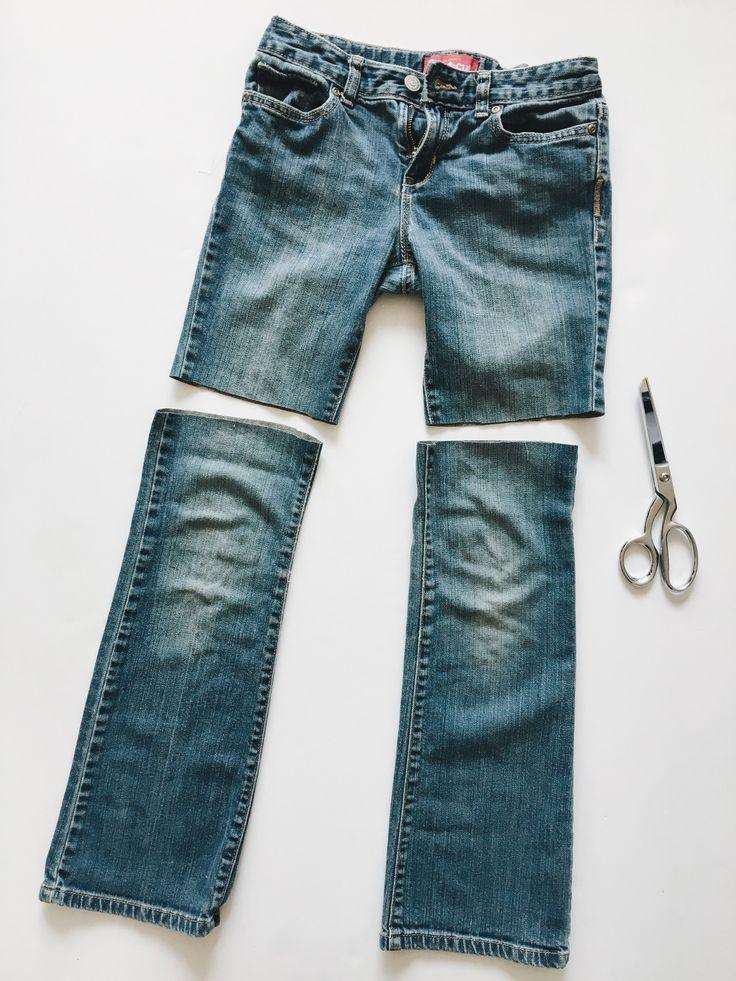Wie man Boho inspirierte Jean Cutoff Shorts macht   – Embellishment ideas