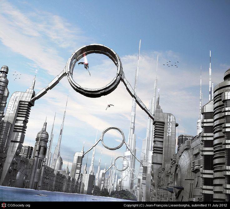 Corridor by Jean-François Liesenborghs | 3D | CGSociety