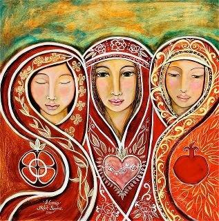 Three Marys: Mother Mary, Mary Magdalene & Marie Salome ♥♥