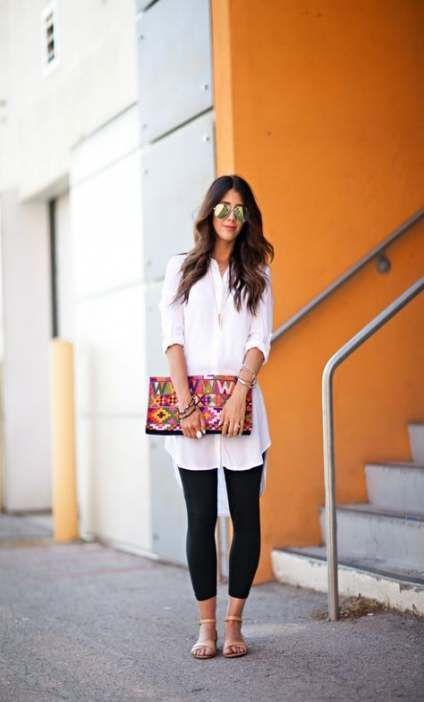 30 Ideas how to wear leggings in summer outfits for 2019
