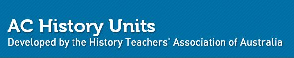 Units developed by the History Teachers' Association of Australia to support teachers in the implementation of the Australian Curriculum: History. Relevant units are: Federation (Yr 6); the First Fleet (Yr 4) & A Significant Local Site (Yr 2). Units contain links to useful online teaching resources.
