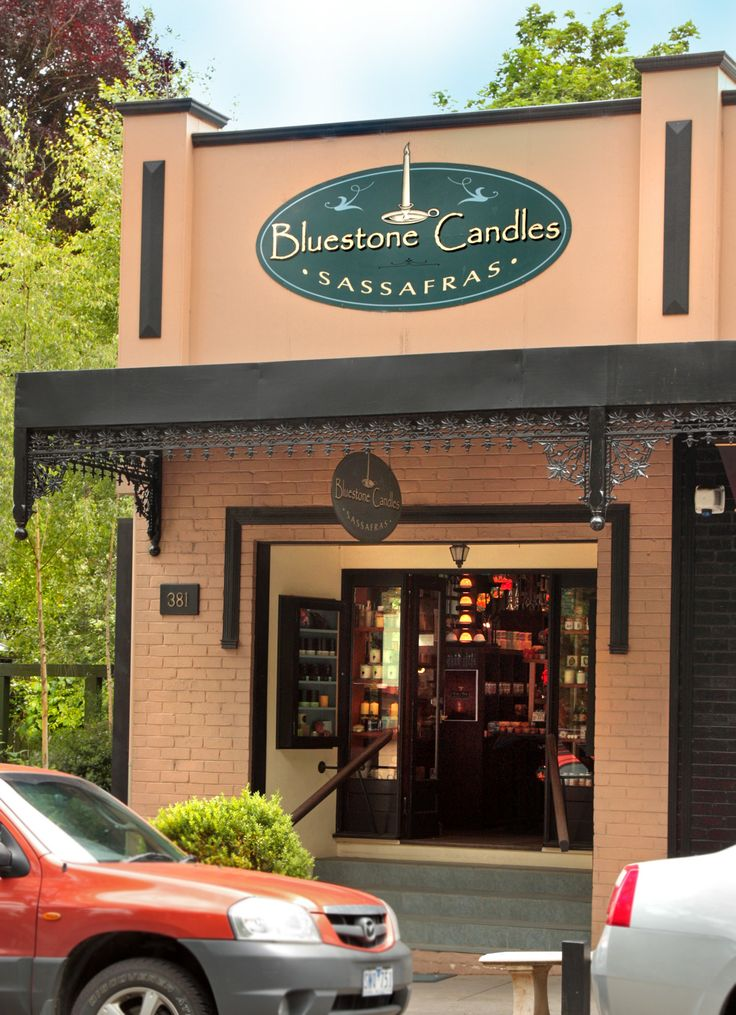 "One of the best shops in the Dandenongs ""Bluestone Candles"" Sassafras, Victoria"