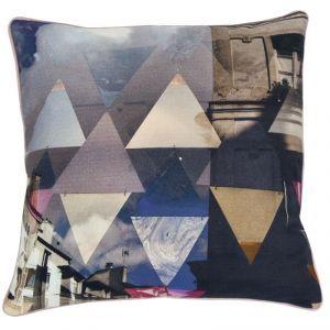 Paris Geometric Multicoloured Cushion