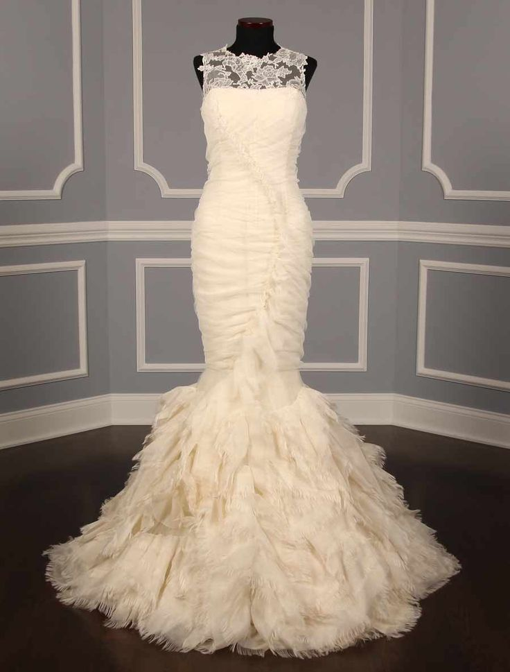 Vera wang june 121712 discount designer wedding dress for Affordable vera wang wedding dresses