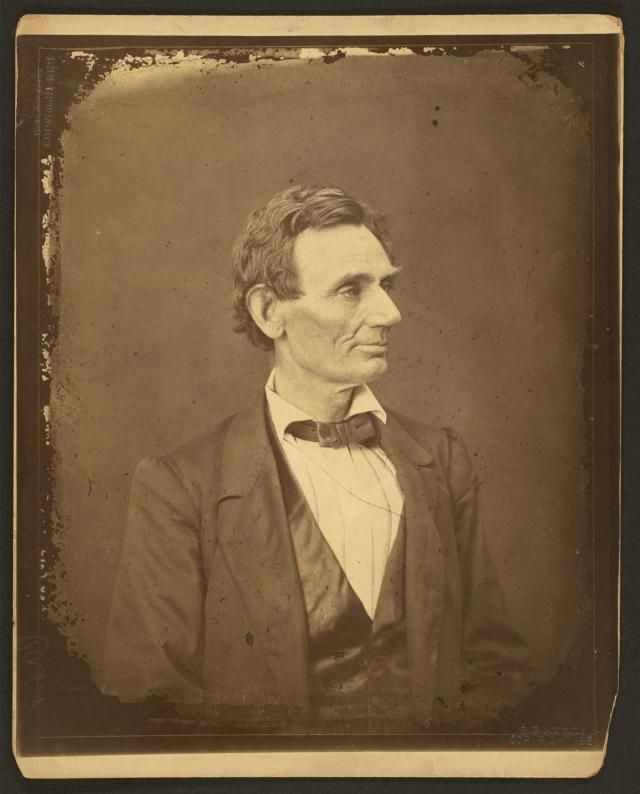 Images of Abraham Lincoln and the 1860 Campaign for President: Lincoln Posed for an Illinois Photographer…