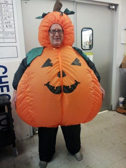 Costume A Day The Goodwill Way Day 28 Mr Pumpkin Mr