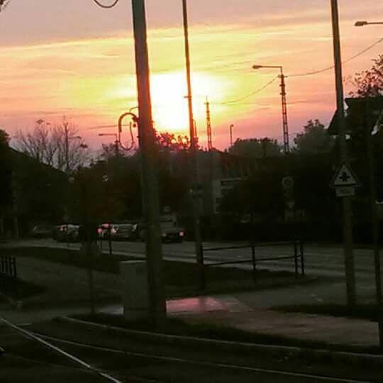 Sunset, Hungary