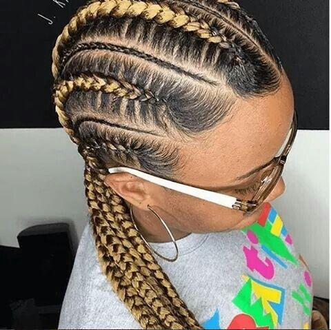 Corn Row Braids For Black Hair African Braids