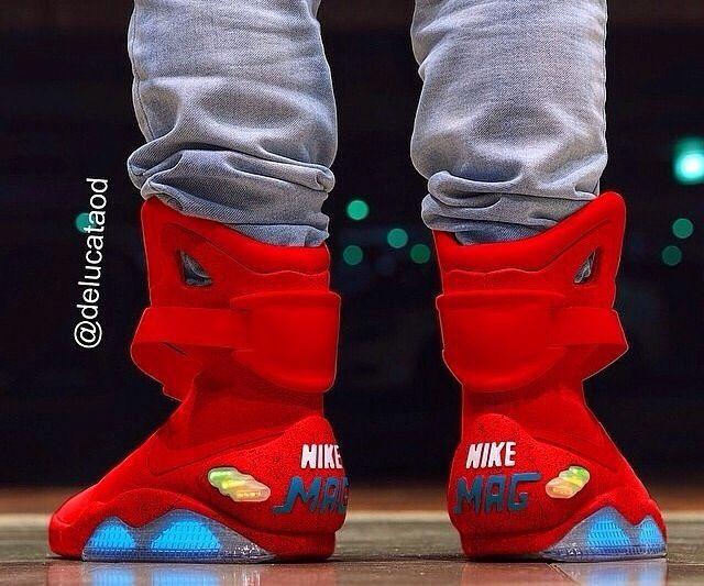 nike air mag 2015 bohe and red