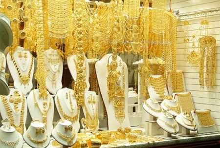 dubai gold souk: Dubai has been long known as the 'city of gold', despite the fact that majority of its gold is imported from Asia and neighbouring countries. Dubai is a tax free shopping haven for gold lovers and is the Middle East's center of jewelry market. Moreover, Gold in Dubai is the cheapest in the world.