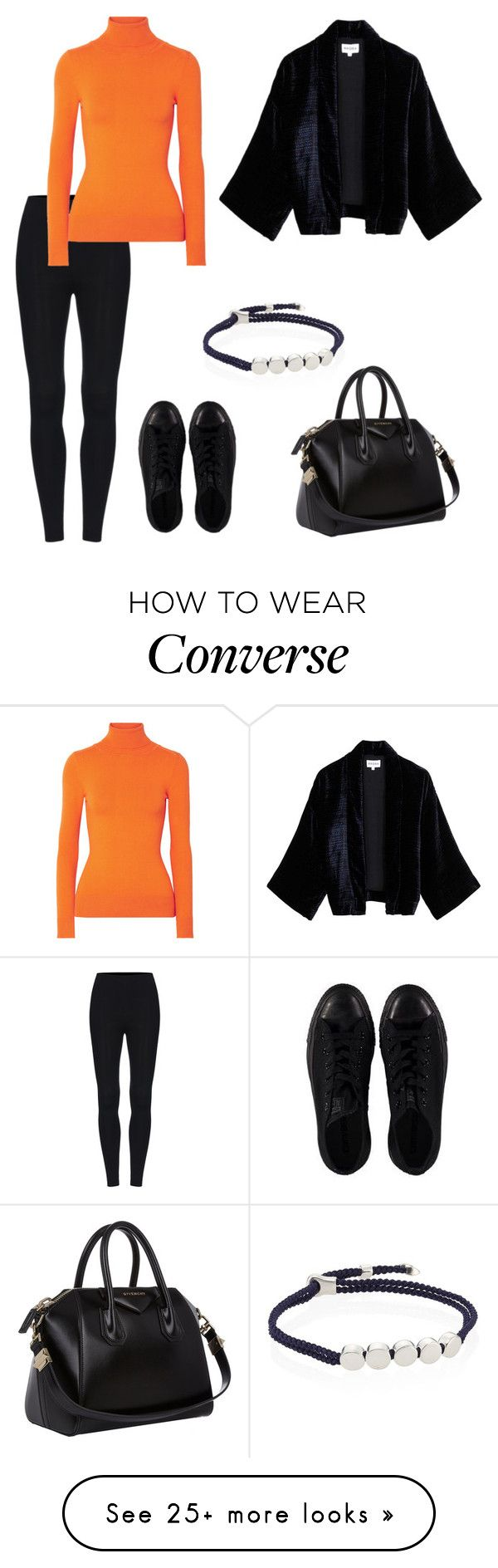 """""""Untitled #341"""" by maram267 on Polyvore featuring Converse, JoosTricot, Monica Vinader and Givenchy"""