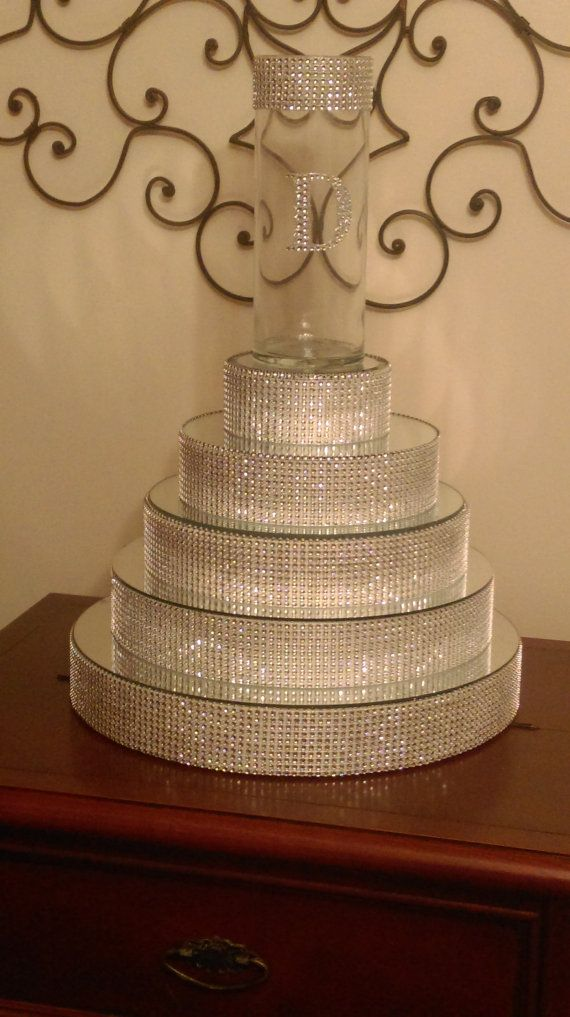 Bling Centerpiece Riser by ShareJoyCreations on Etsy