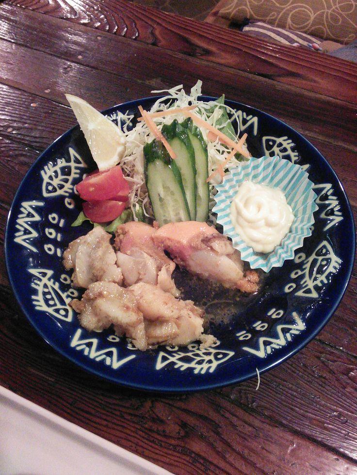 帆立貝のバター焼き(Japanese scallop)