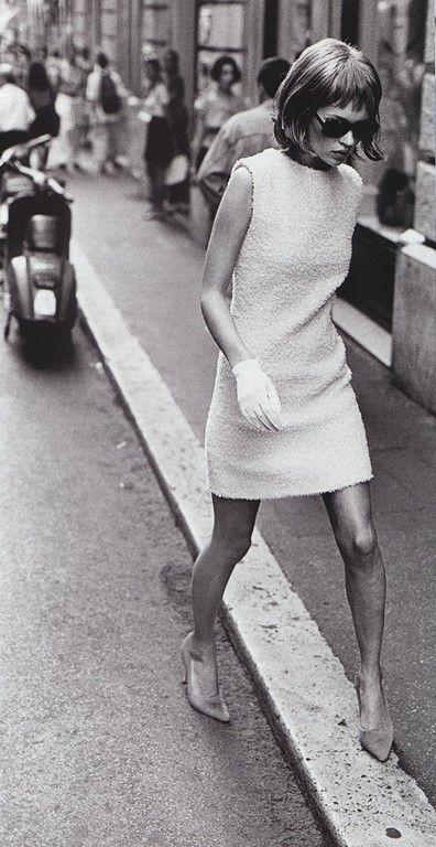 Harper's Bazaar (US) - Who's That Girl - Kate Moss - September 1994