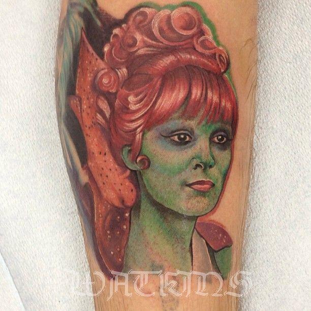Beetlejuice tattoo- Miss Argentina | Amazing tattoos ...