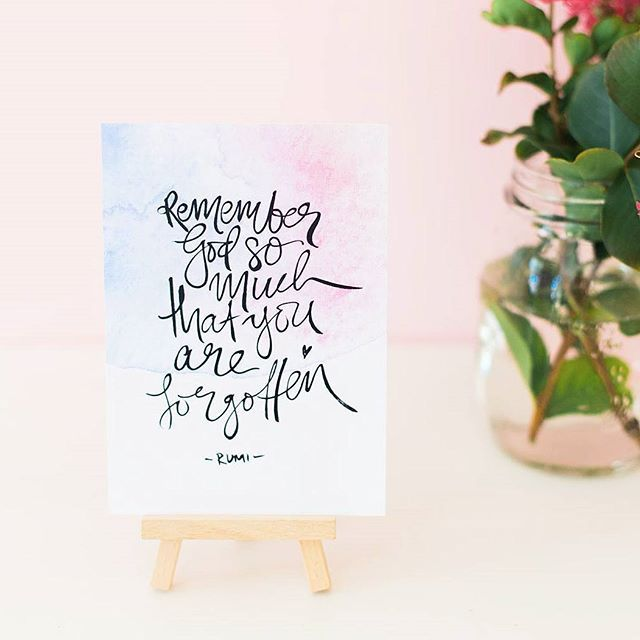 Life Of My Heart — Sufi quotes, Rumi quotes, brush lettered wall art. www.lifeofmyheart.com.au
