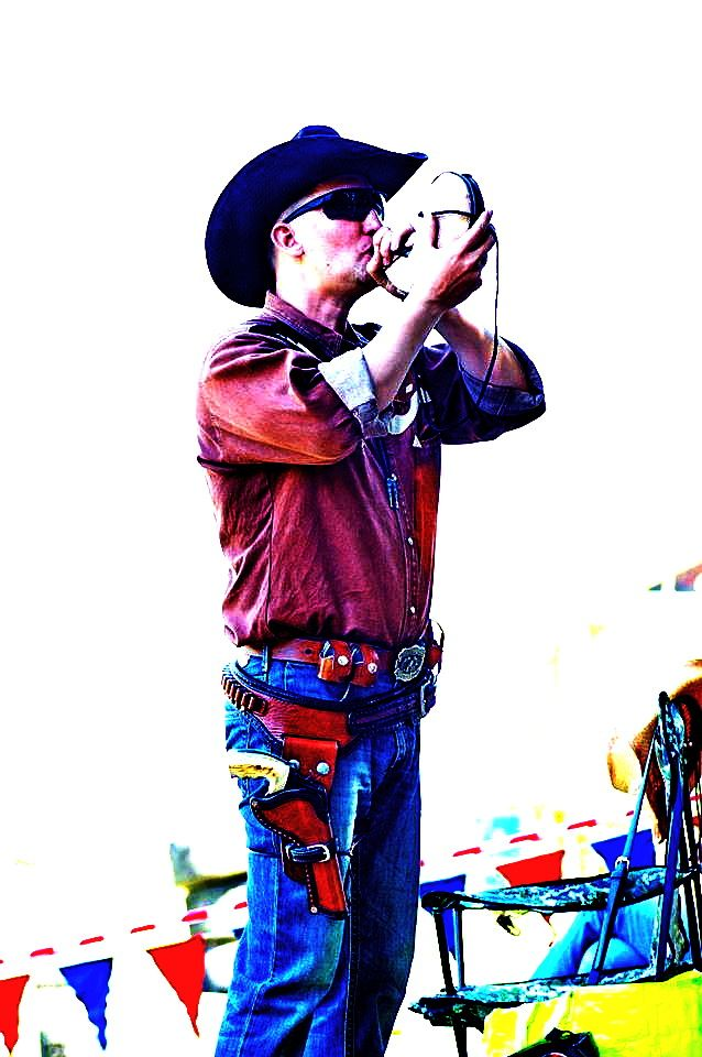 Кобура для револьвера спортивно-развлекательная в ковбойском стиле