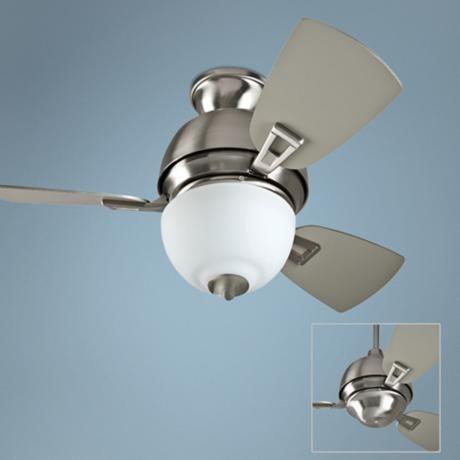 "30"" Craftmade Dane Stainless Steel Ceiling Fan - 165"