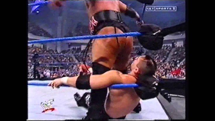 WWF - 01.17.2002 - SmackDown! - Rikishi vs Christian & Lance Storm - Ove...