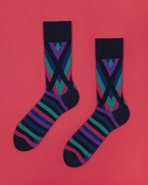 #niezchinzpasji X-stripes Dark w ManyMornings na DaWanda.com