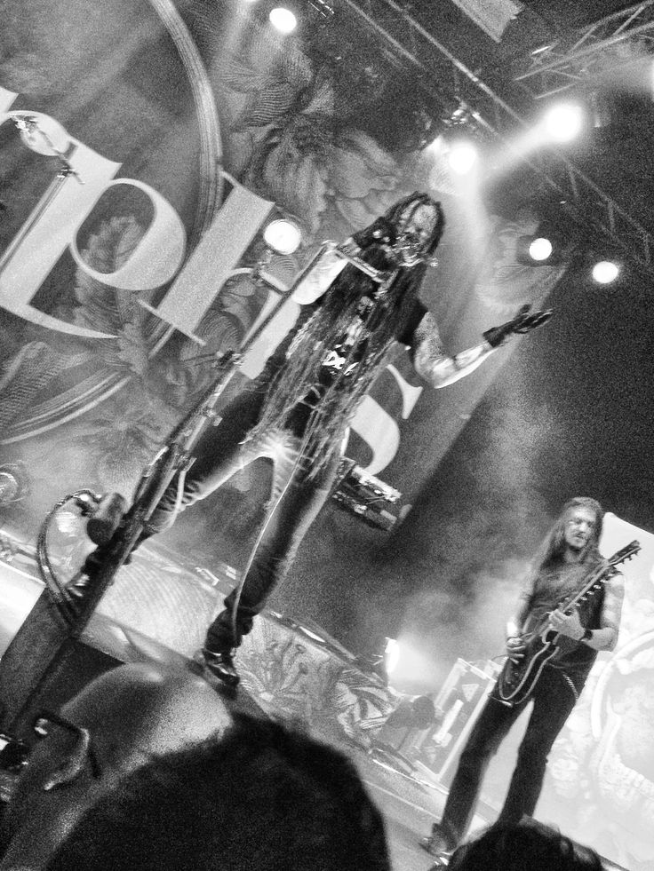 Amorphis live in Milan