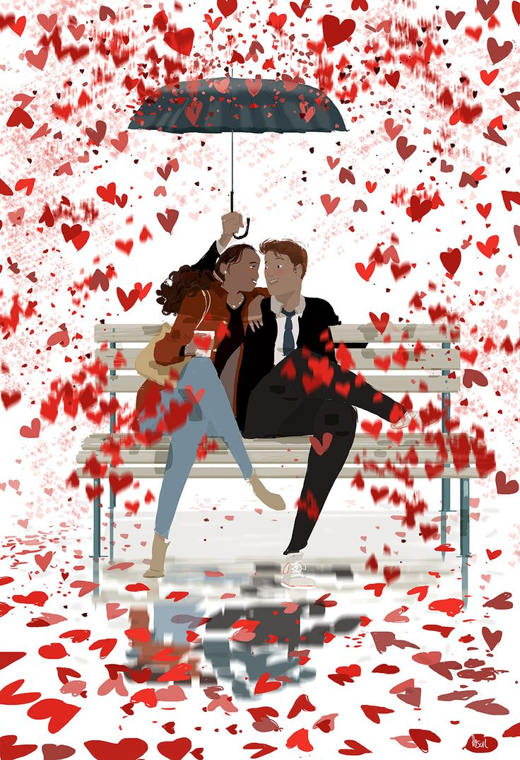 BREAKING NEWS! February 14  Strong chances of (Love) showers.  Stay warm. #pascalcampion #StValentineDay