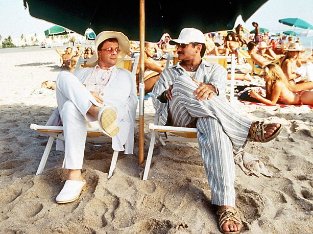 "Director Mike Nichols required that Nathan Lane and Robin Williams film at least one take of each scene sticking to the script before he would allow them to improvise. | 19 Things You Didn't Know About The Movie ""The Birdcage"""