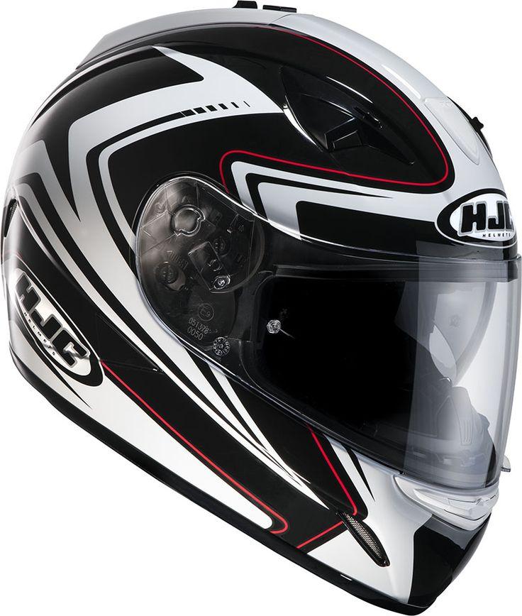 Casco integrale HJC TR-1 Blade MC1 : Abbigliamento Moto, Accessori Moto