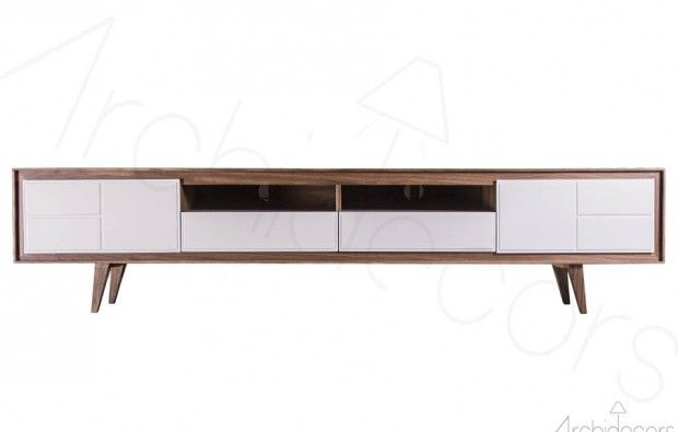 Retro Tv Ünitesi Lumber - Tv Unit Retro from İstanbul Made in Turkey with LOVE