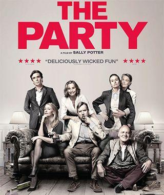 Вечеринка / The Party (21.12.2017) http://www.yourussian.ru/185015/вечеринка-the-party-21-12-2017/   Авторское кино Салли Поттер всколыхнуло умы ценителей киноискусства. Снятый в черно-белых тонах фильм затрагивает самые тонкие сруны в душе зрителя. По результатам рецензии фестивальных критиков фильм имеет все шансы оказаться в нашем кинопрокате. «Вечеринка» - это фильм в жанре трагедии, в обертке комедии.Жанет получила долгожданное повышение и теперь стала  министром. По этому поводу ей…
