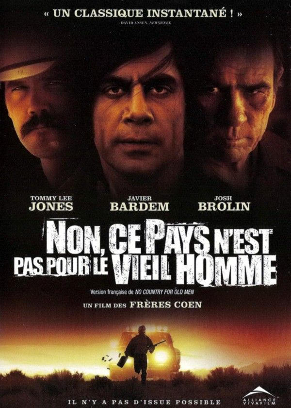 No Country For The Old Man Vieil Homme Film Film Thriller