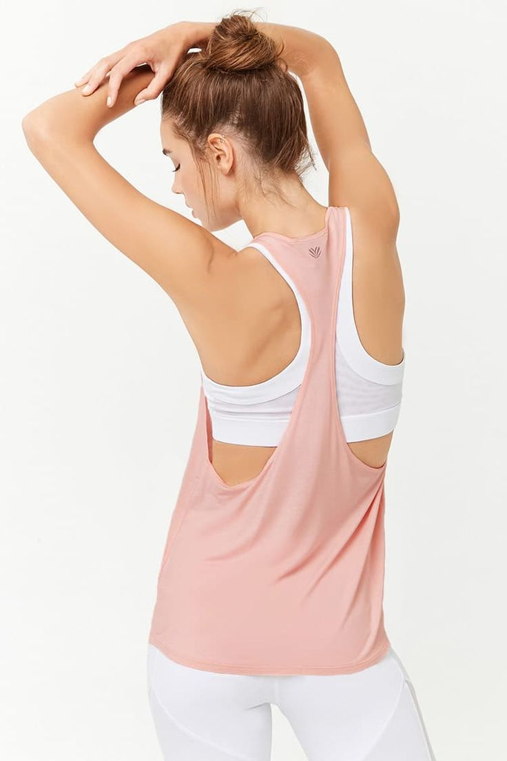 Product Name:Active Heathered Racerback Tank Top, Category:Activewear, Price:9.9