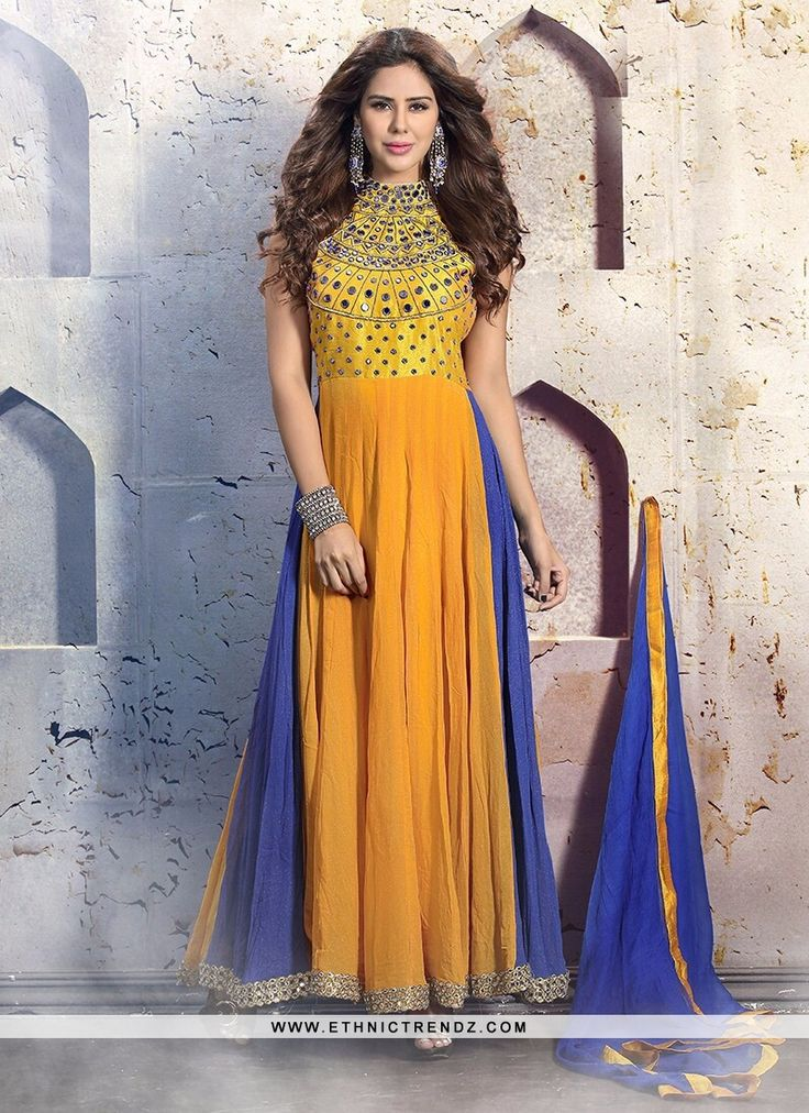 FOR MORE DETAILS ABOUT THIS PRODUCT VISIT THIS LINK :- http://www.ethnictrendz.com/salwar-suits?catalog=et-a394  VISIT OUT WEBSITE :- WWW.ETHNICTRENDZ.COM