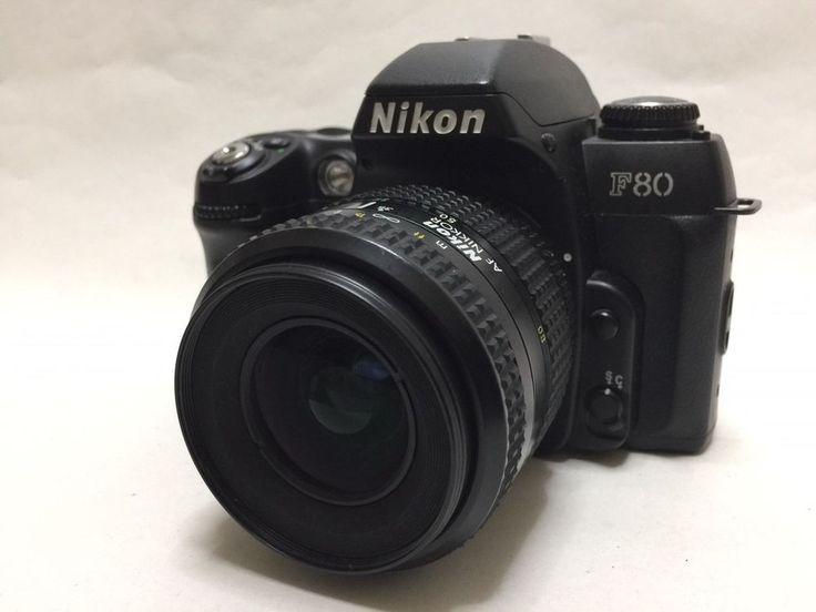 【EXC+++++】Nikon F80 35mm SLR w/ AF NIKKOR 35-80mm f/4-5.6D ZOOM Lens #87 #Nikon