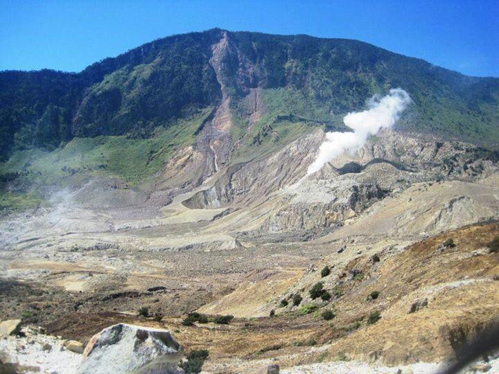 Papandayan Volcano, Garut West Java ID