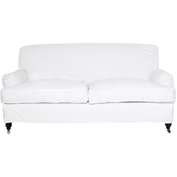 Beecroft Sofa ❤ liked on Polyvore featuring home, furniture, sofas, hardwood furniture, hand made furniture, handcrafted furniture, craftsman style furniture and craftsman sofa