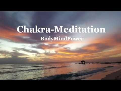 Chakra Meditation mit Affirmationen - Heilung - Harmonisierung - Entspannung - Einschlafen - YouTube