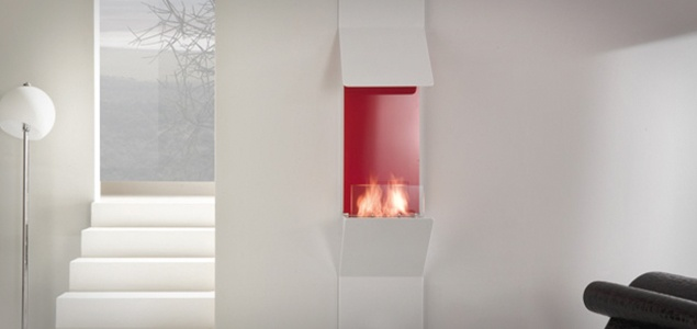 Wall Fireplace @IndoorFlame.dk