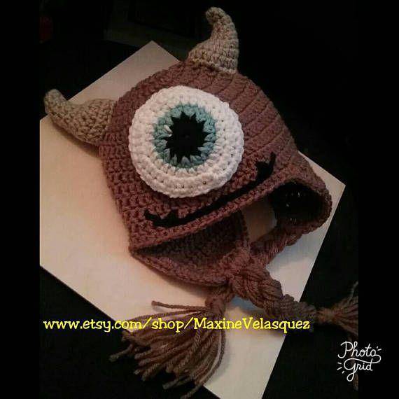 Crochet el pequeño Mikey monstruos Inc había inspirado