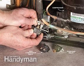 Refrigerator Maintenance: Refrigerator Compressor Repair | The Family Handyman