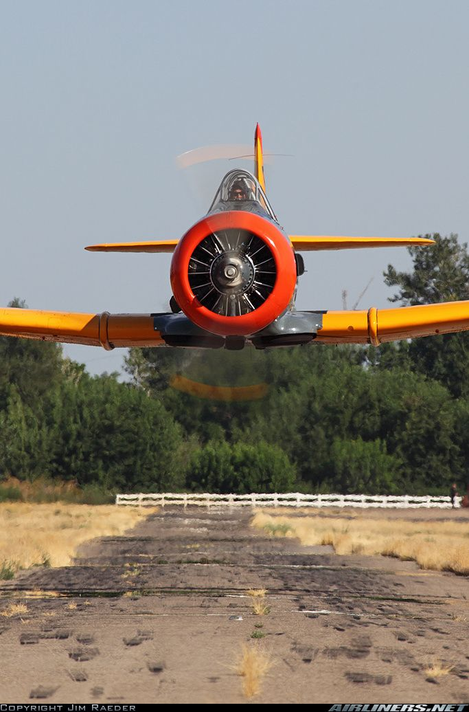 North American SNJ-4 Texan aircraft picture