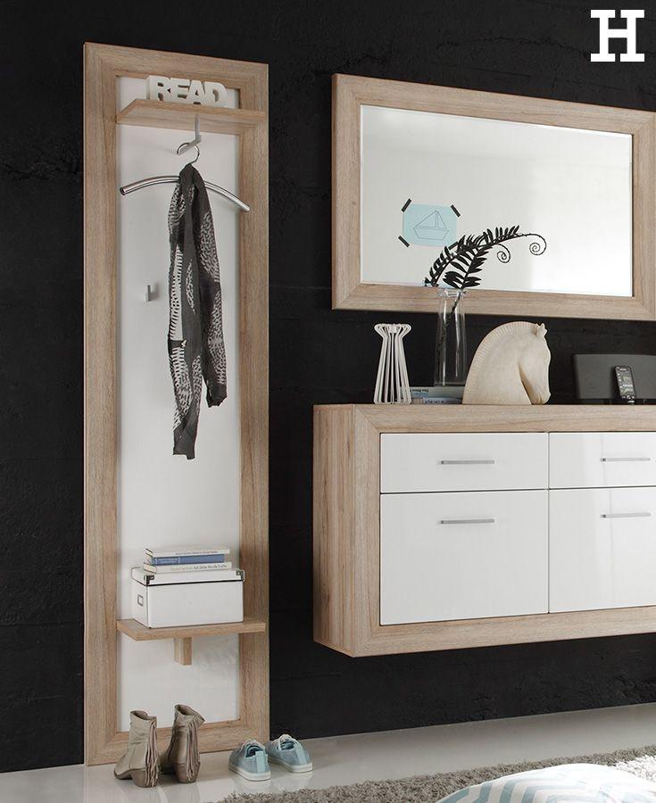 22 besten flur eingangsbereich ideen bilder auf pinterest for Flur garderoben kleine dielen