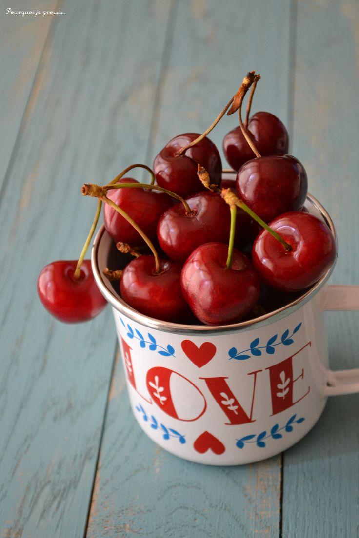 Fresh cherries. Love Spring !